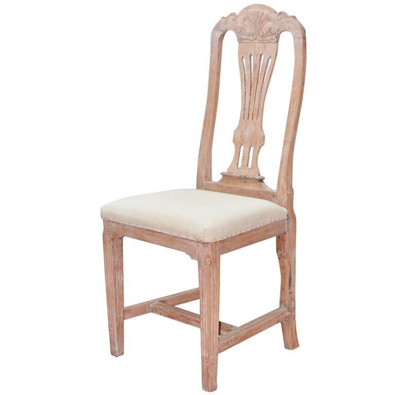 Gustavian Style Desk or Dining Chair