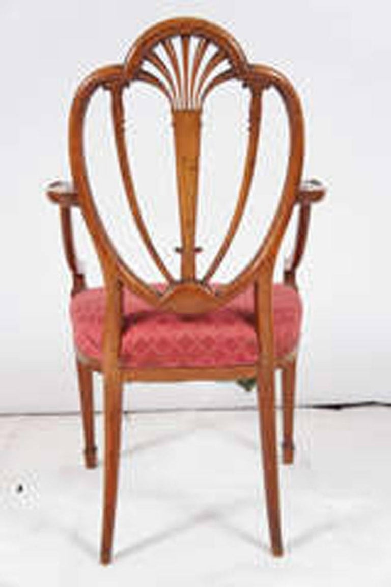 19th Century Hepplewhite Armchair For Sale