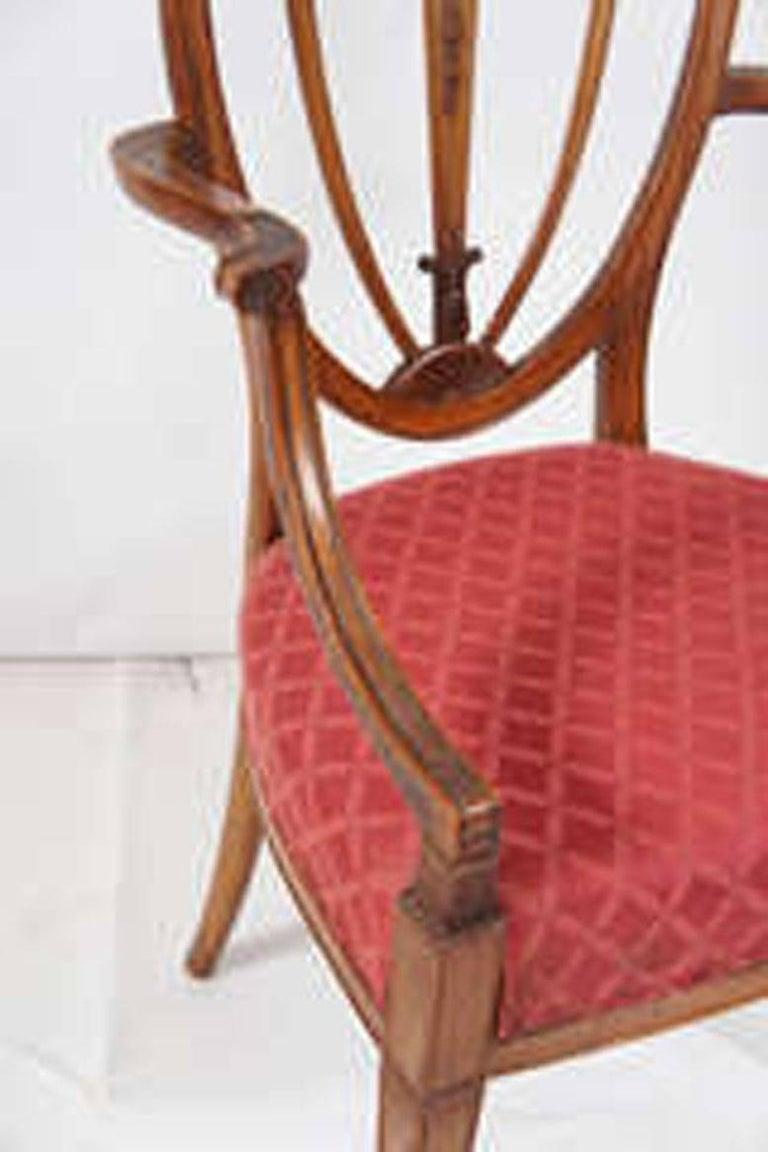 Hepplewhite Armchair For Sale 1