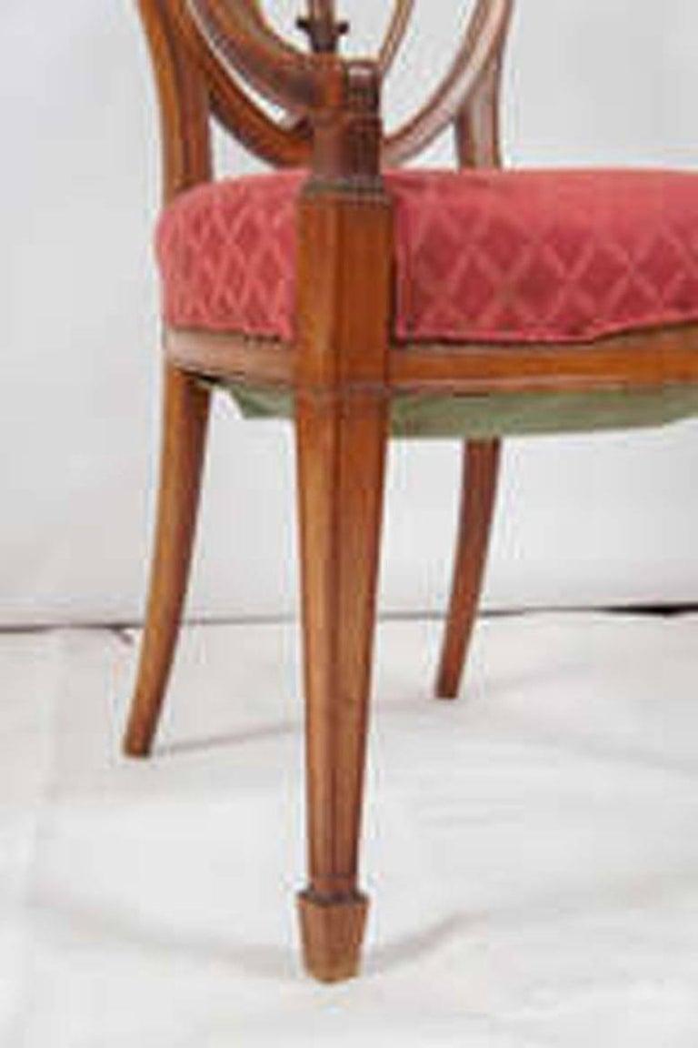 Hepplewhite Armchair For Sale 2