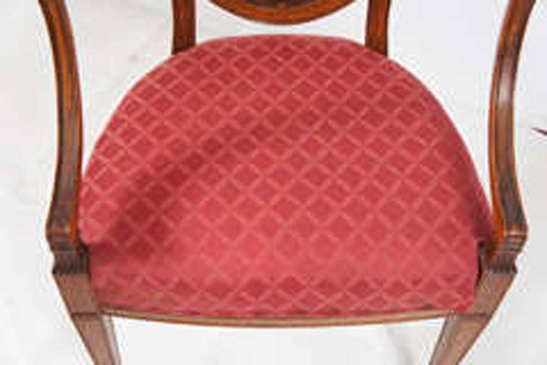 Hepplewhite Armchair For Sale 3