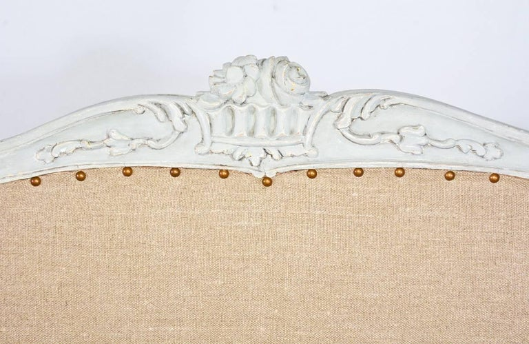Wood 19th Century Louis XV Settee For Sale