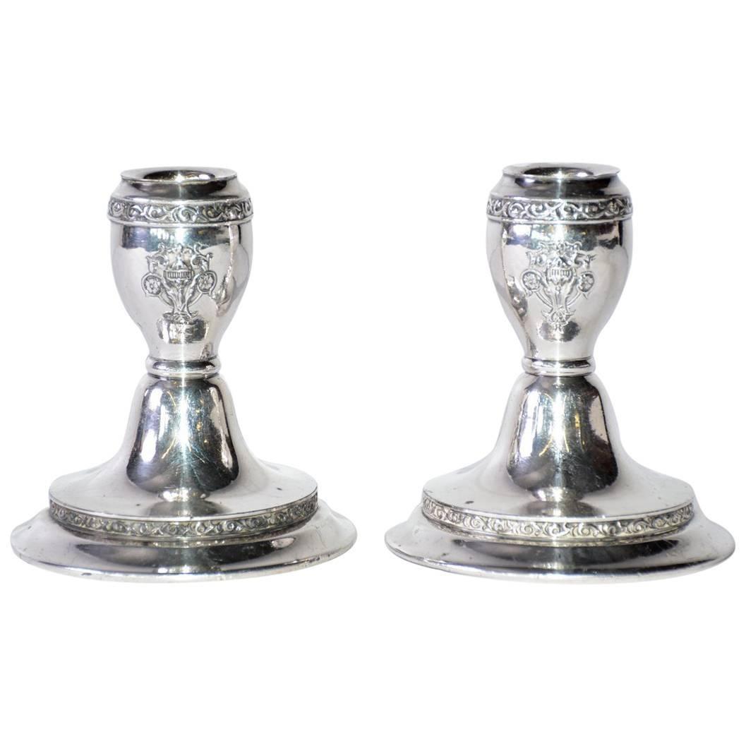 Pair of Vintage Candleholders