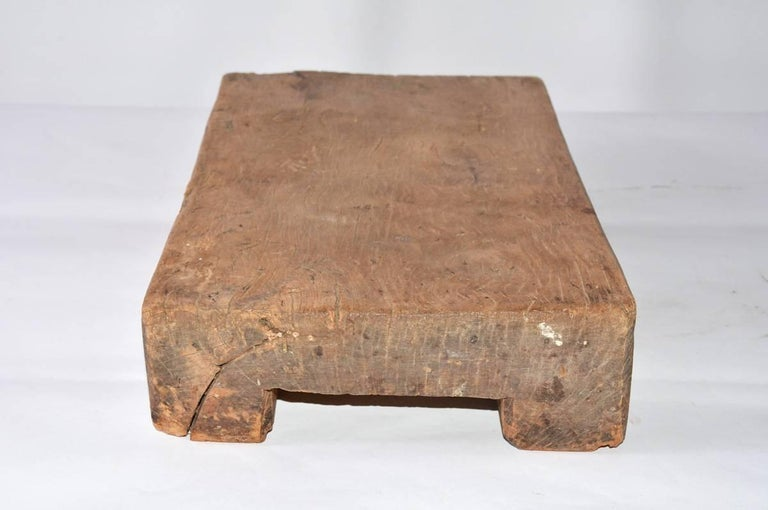 Chinese Wooden Block In Good Condition For Sale In Great Barrington, MA