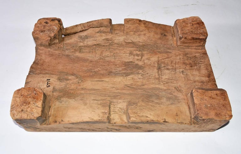 19th Century Chinese Wooden Block For Sale