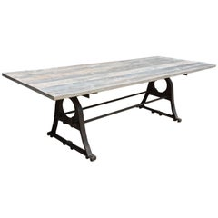 Renaissance Style Metal Dining Table