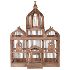 Antique Architectural Bird Cage