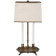 Vintage Brass Bouillotte Table/Desk Lamp