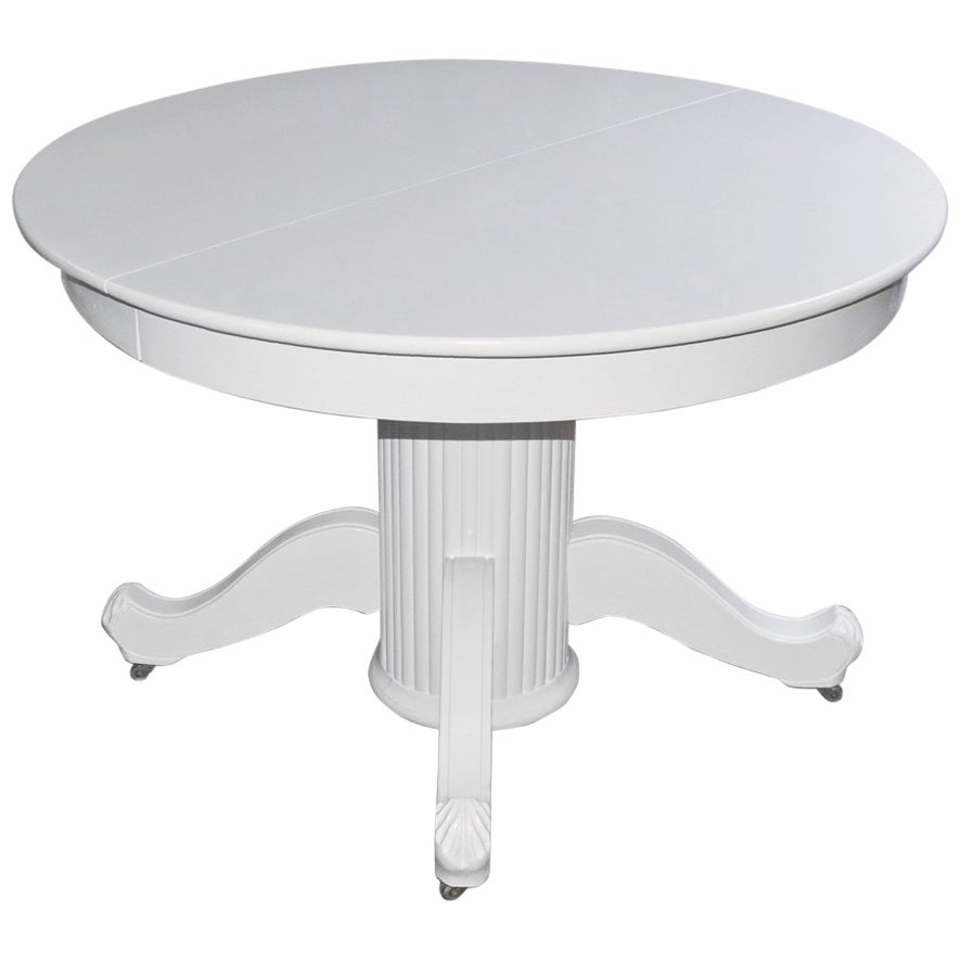 Victorian Round Pedestal Dining Table