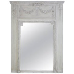 Antique French Neoclassical Mantel Mirror