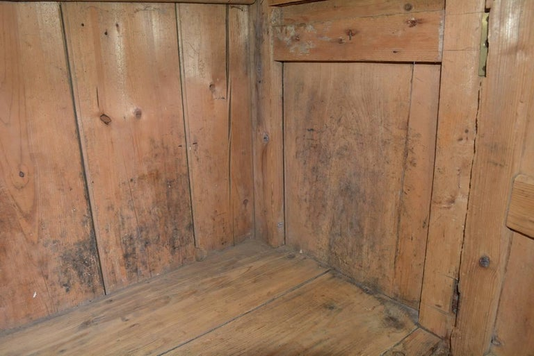 Large Antique Pine Sideboard or Cabinet In Good Condition For Sale In Great Barrington, MA