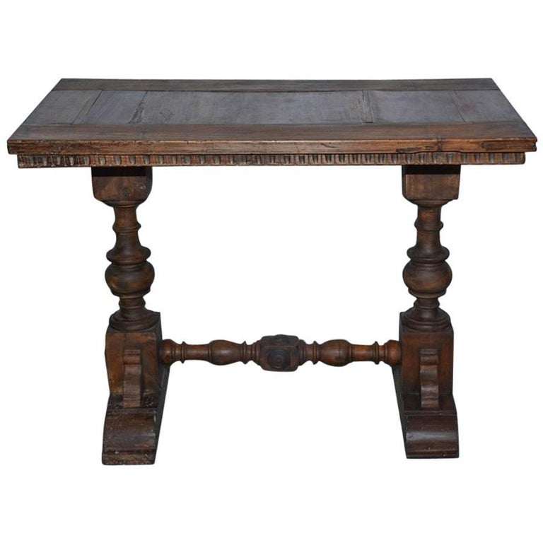 Vintage Jacobean Side Table For Sale