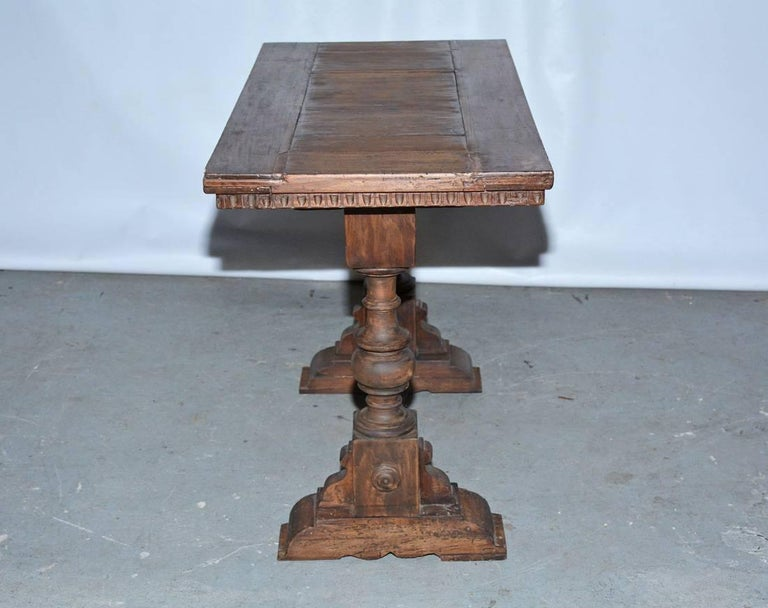 English Vintage Jacobean Side Table For Sale