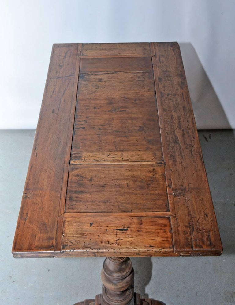 Early 18th Century Vintage Jacobean Side Table For Sale