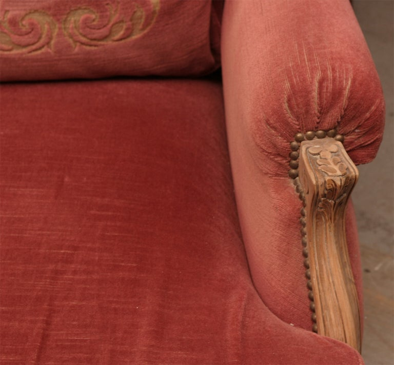 Louis XV Style Provincial Sofa For Sale 2