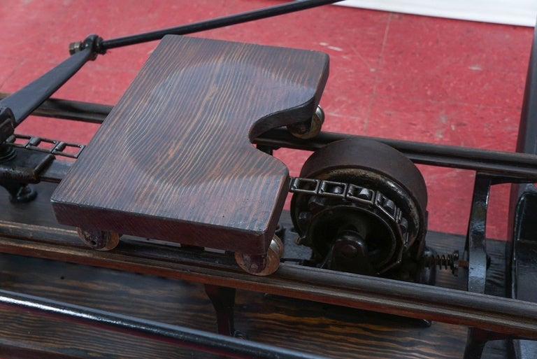 Antique Rowing Machine A La Boys In The Boat For Sale At