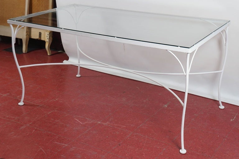 Vintage Indoor Or Outdoor Dining Table For Sale At 1stdibs