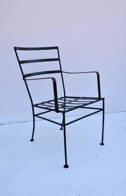American Modern Pair of Vintage Terrace or Patio Lounge Chairs For Sale