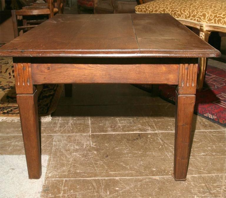Hand-Crafted Rustic French Country Coffee Table For Sale