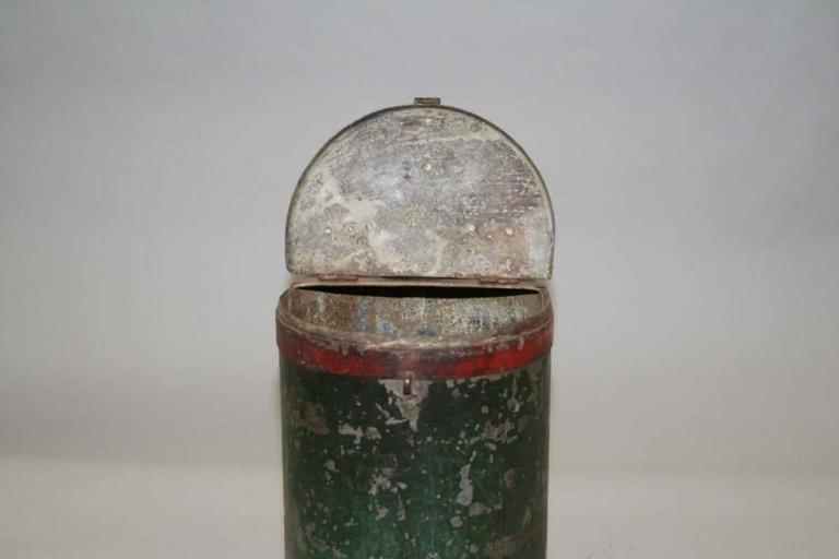 Vintage Grain Container from India 2