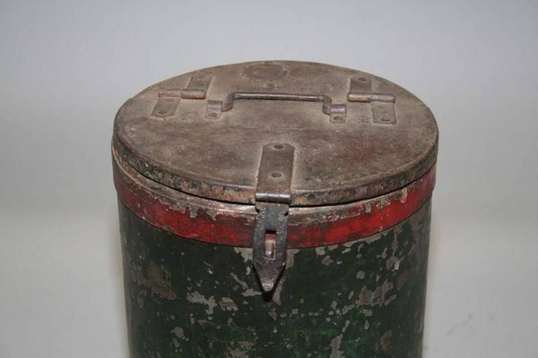 Vintage Grain Container from India 3