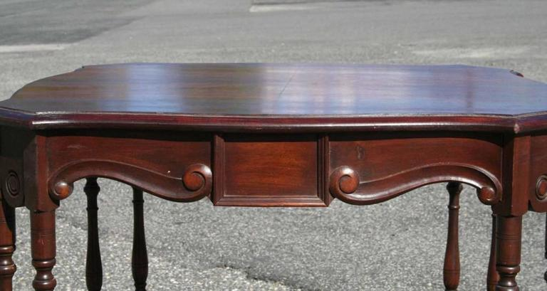Mahogany Game Table 3