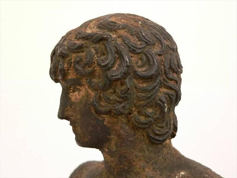 Classical Bronze Male Nude Sculpture For Sale 1
