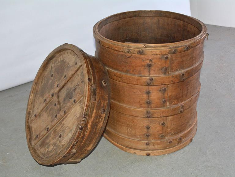 Antique Asian Storage Container For Sale at 1stdibs