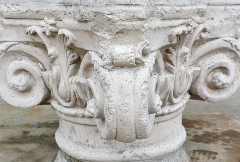 Antique Ionic Stone Pedestal 3