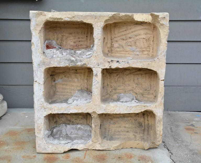 20th Century Pair of Antique Terracotta Architectural Building Elements For Sale