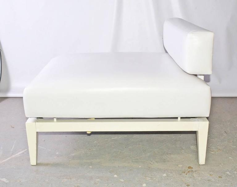 Contemporary leather chaise longue for sale at 1stdibs for Chaise longue sale