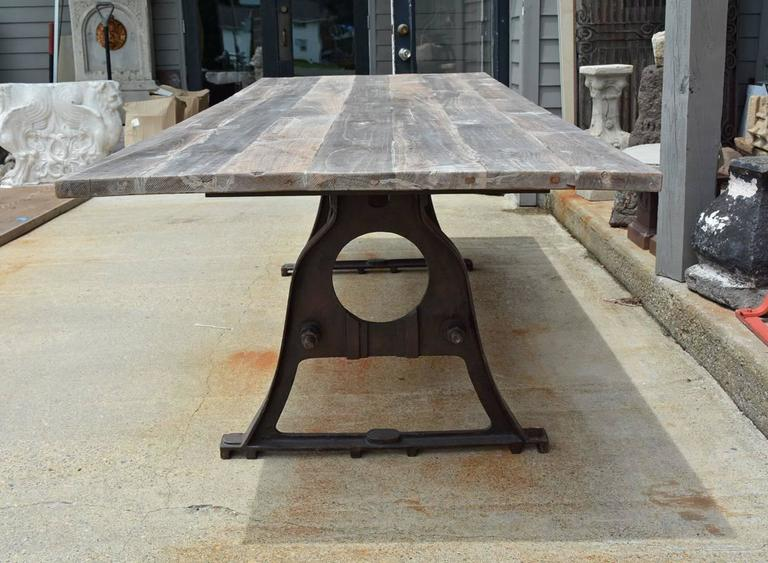 Dutch Renaissance Style Metal Dining Table For Sale