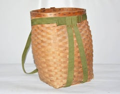Antique French Picnic Basket