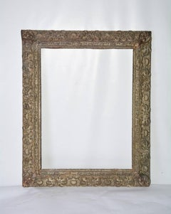 Renaissance-Style Frame with Leaves and Scrolls