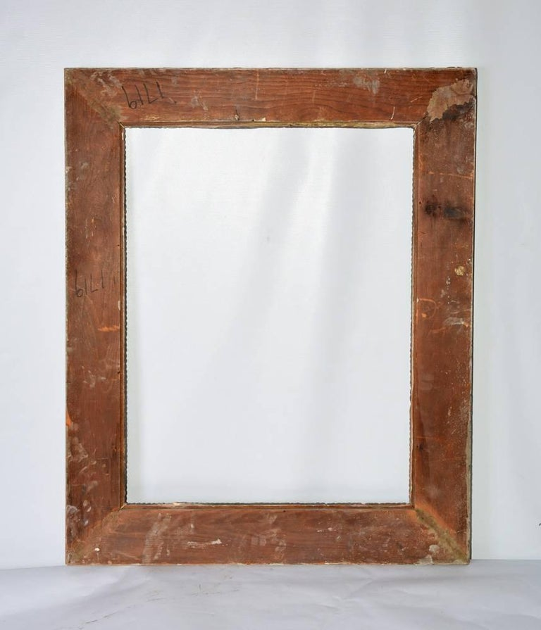 Renaissance-Style Frame with Leaves and Scrolls In Good Condition For Sale In Great Barrington, MA