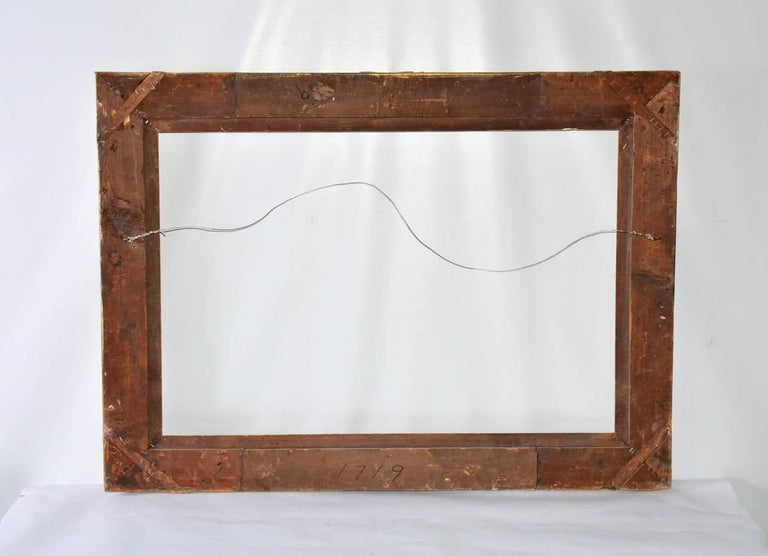 Vintage French-Style Frame with Molded Leaves 5