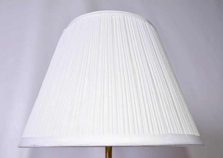 Antique Swedish Metal Lamp 6