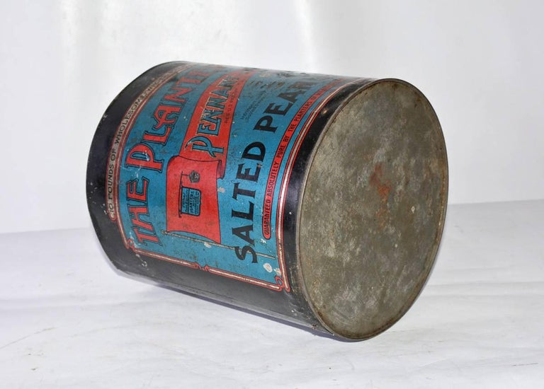 "American Decorative ""Planter Peanuts"" Can For Sale"
