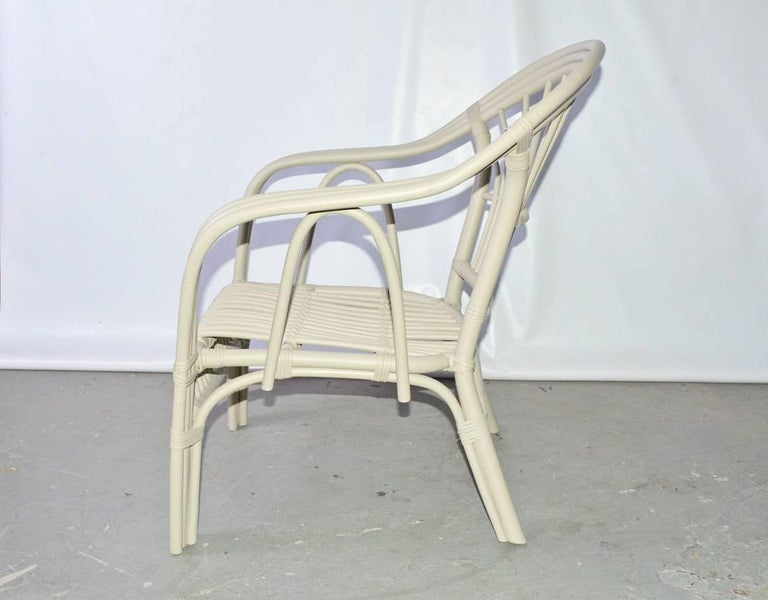 Other Vintage Rattan Armchair For Sale
