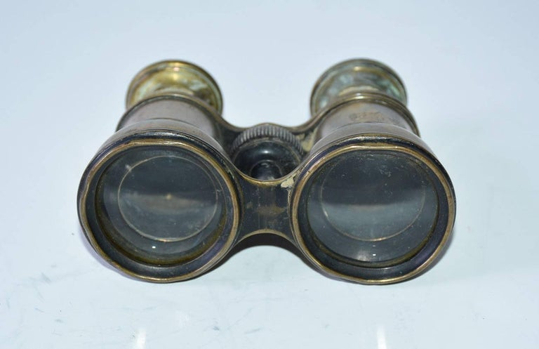 19th Century Antique French Verres Supérieurs Binoculars For Sale