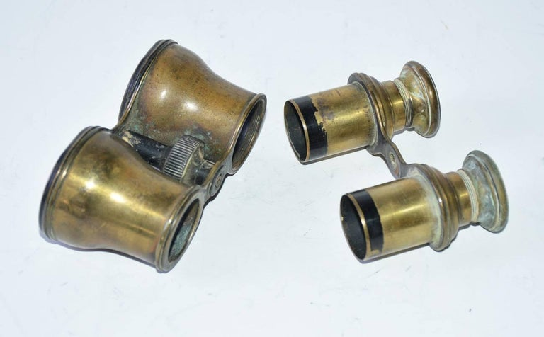 Antique French Verres Supérieurs Binoculars For Sale 1