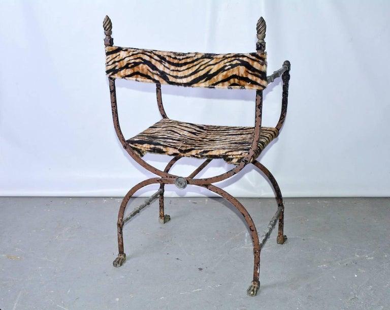 Italian Savonarola Chair For Sale