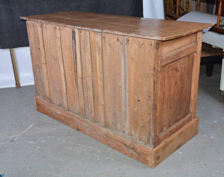 Large Antique Pine Sideboard or Cabinet For Sale 2