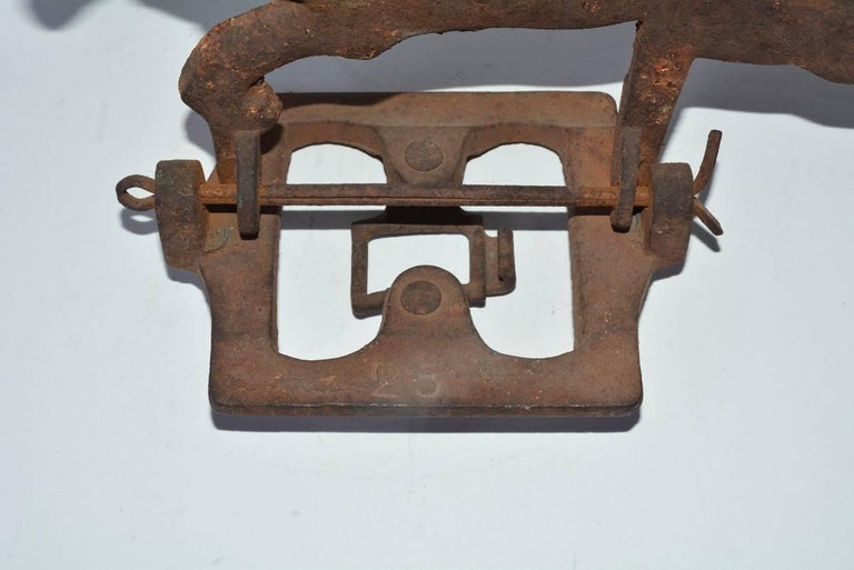Cast Antique Shooting Gallery Target For Sale