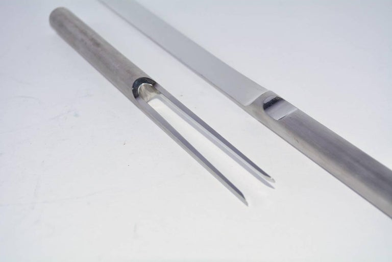 Italian Carving Set by Cini & Nils For Sale