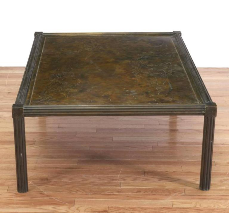 Philip Laverne Coffee Table.Fine Philip And Kelvin Laverne Classical Coffee Table