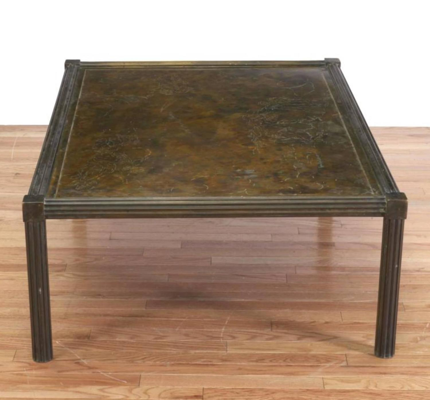 Fine Philip And Kelvin Laverne Classical Coffee Table