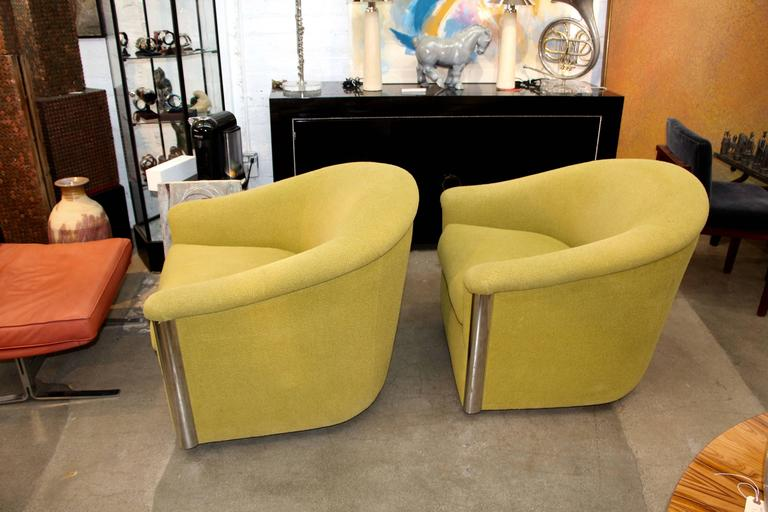 A Pretty Wonderful Pair Of Chairs Designed By Sally Sirkin Lewis For J.  Robert Scott
