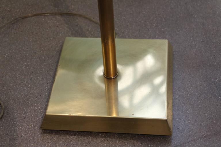 American Nice Brass Adjustable Counter Weight Pharmacy Lamp Frederick Cooper or Chapman For Sale