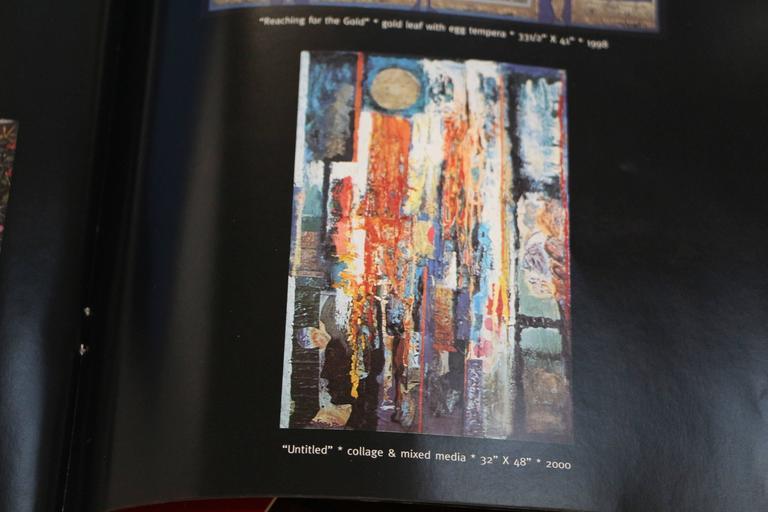 George Dergalis 1998 Mixed-Media on Acid Free Board Newly Framed 10